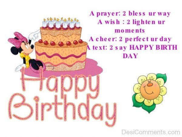 Happy Birthday Wishes-DC30 Születésnap, névnap Pinterest - birthday wish template