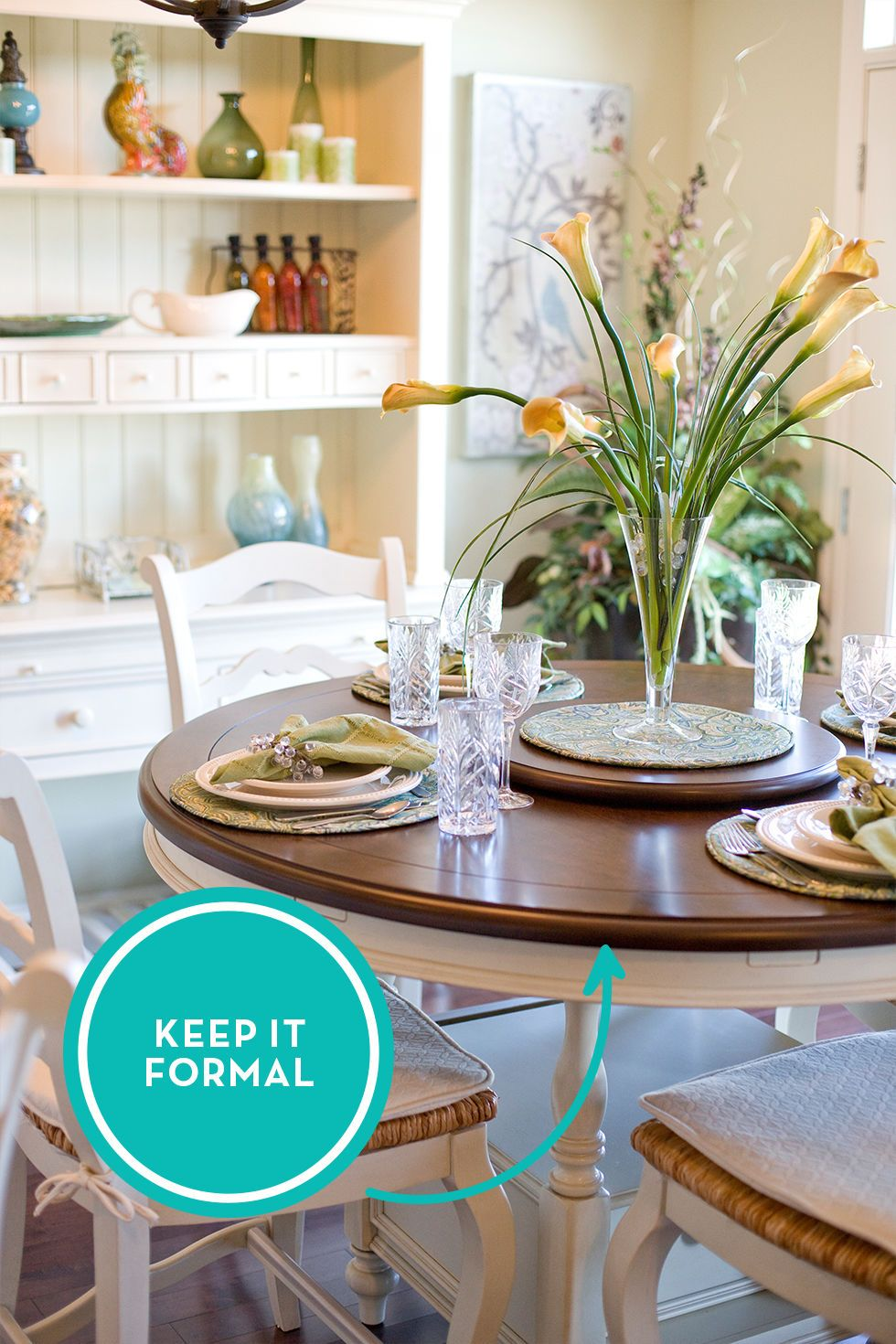 15 Design Secrets To Steal From Home Stagers Formal Dining Room