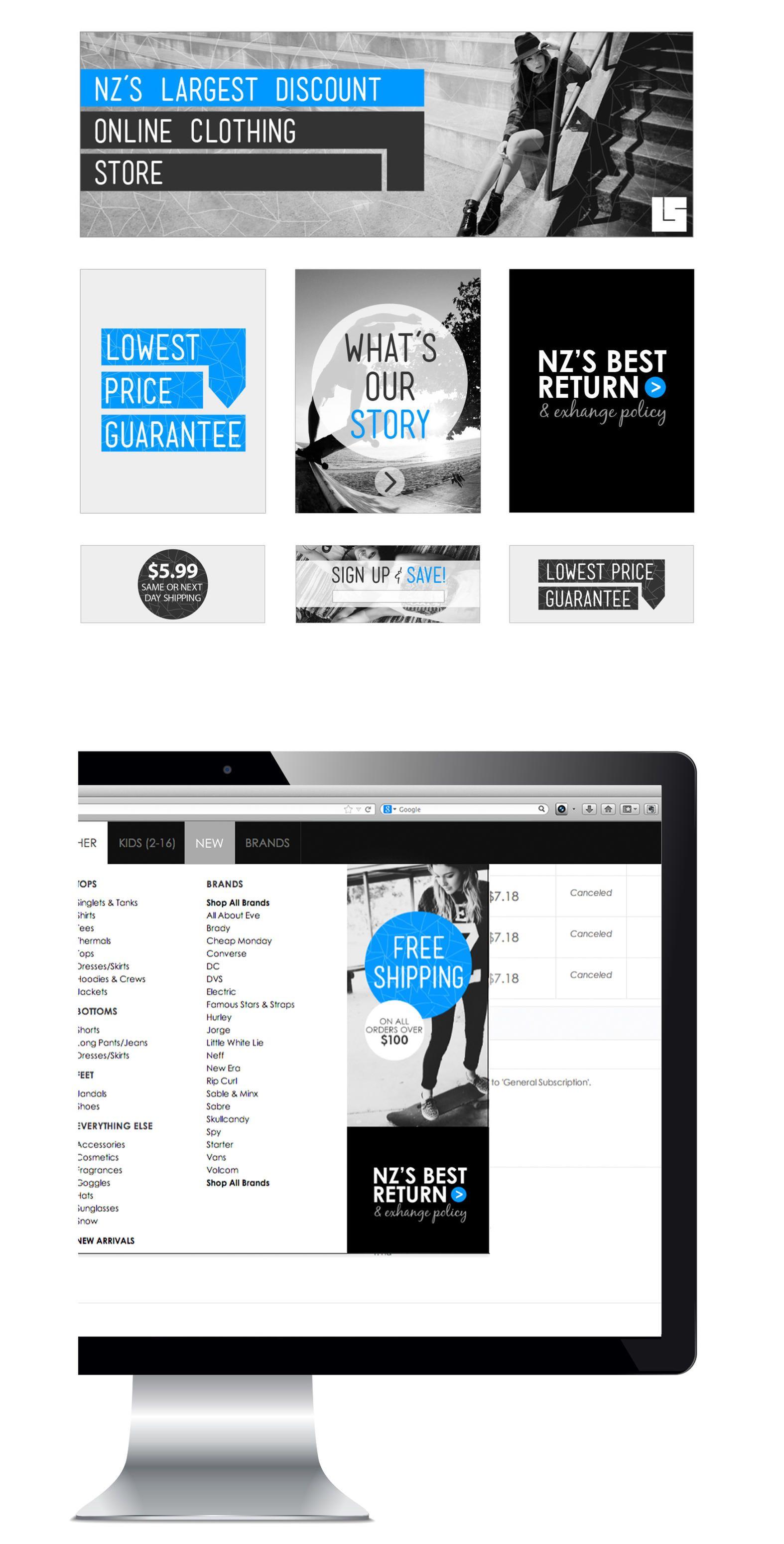 Website Visuals By Http Www Lwcreative Co Nz Web Design Creative Portfolio Website Design