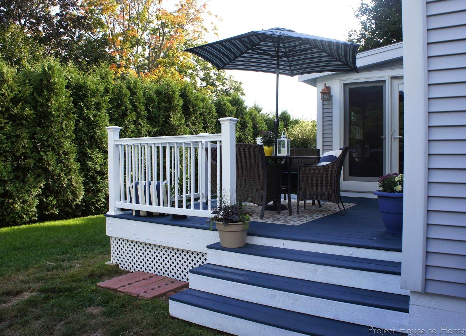 600 diy deck makeover using behr deckover and veranda for Deck paint colors home depot