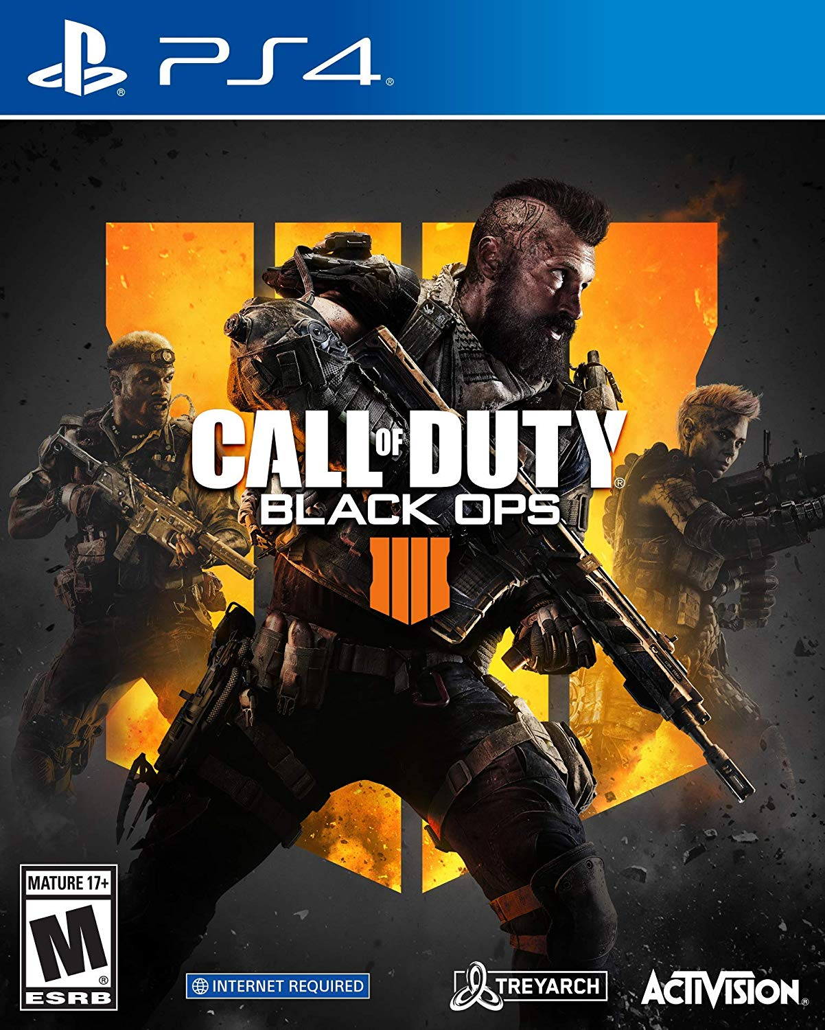 Call Of Duty Black Ops 4 Activision Playstation 4 047875882256 Black Duty Call Call Of Duty Black Call Of Duty Black Ops