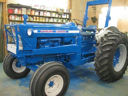 Ford 5000 Tractors Ford Tractors Vintage Tractors
