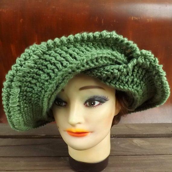 Crochet Pattern Hat Womens Hat Pattern Womens Crochet Hat Pattern