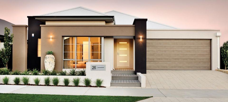 Custom Single Storey Homes Perth Apg Homes Facade House House Exterior Home Building Design