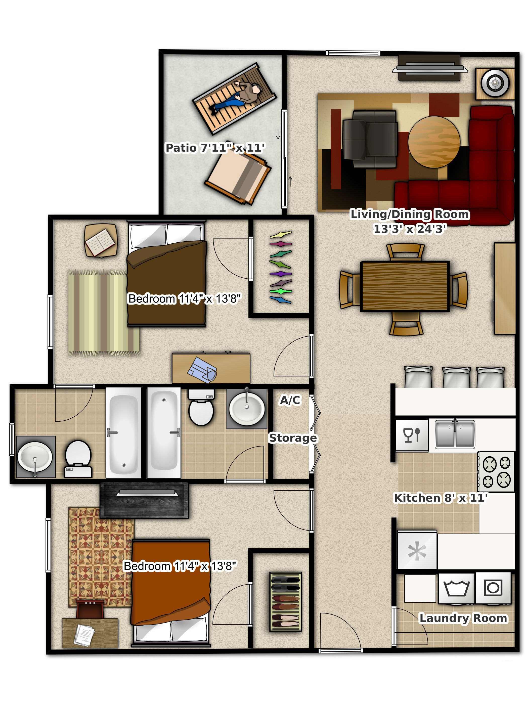 2 bedroom apartments in gainesville florida. phase 2 - bedroom apartment at #stoneridge apartments, #gainesville, fl apartments in gainesville florida ,