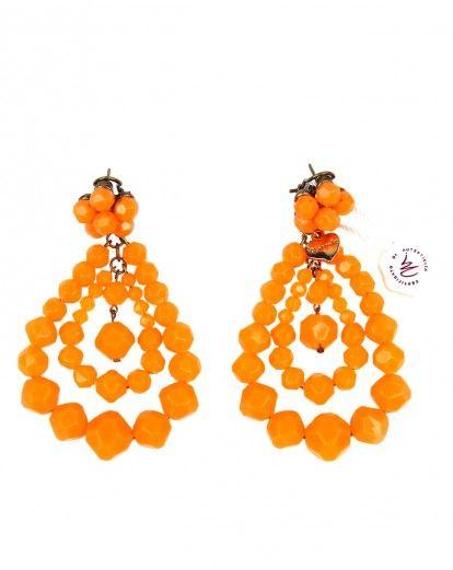 promozione speciale davvero economico sito affidabile Orecchini Mercantia Barth arancio fluorescente. www ...