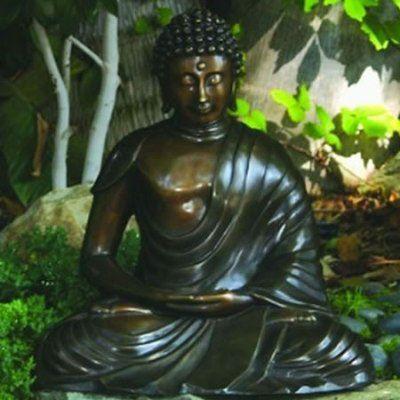 Buddha Brass, Garden Buddha, Meditating Buddha   Japanese Style, Inc.