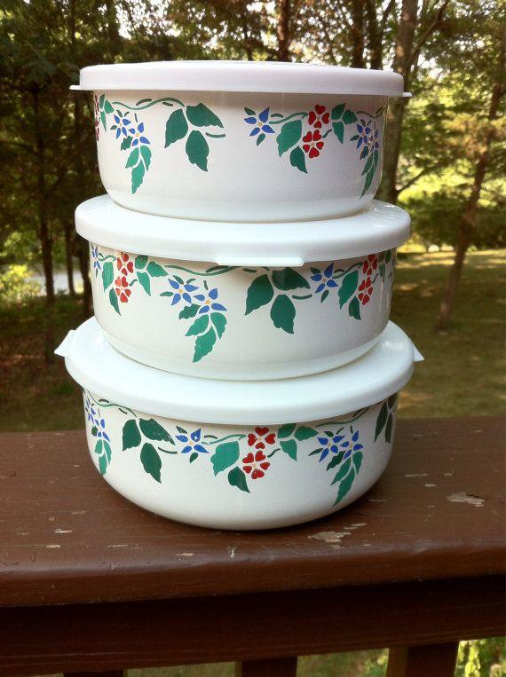 Kobe Kitchen Ceramic Nesting Bowls With Lids (L29) | Nesting bowls ...