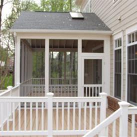 Distinctive Deck Designs Portfolio Covered Living Areas Screened Porch Designs Porch Design House With Porch