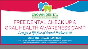 Image result for free dental health camp banner | Dental | Free
