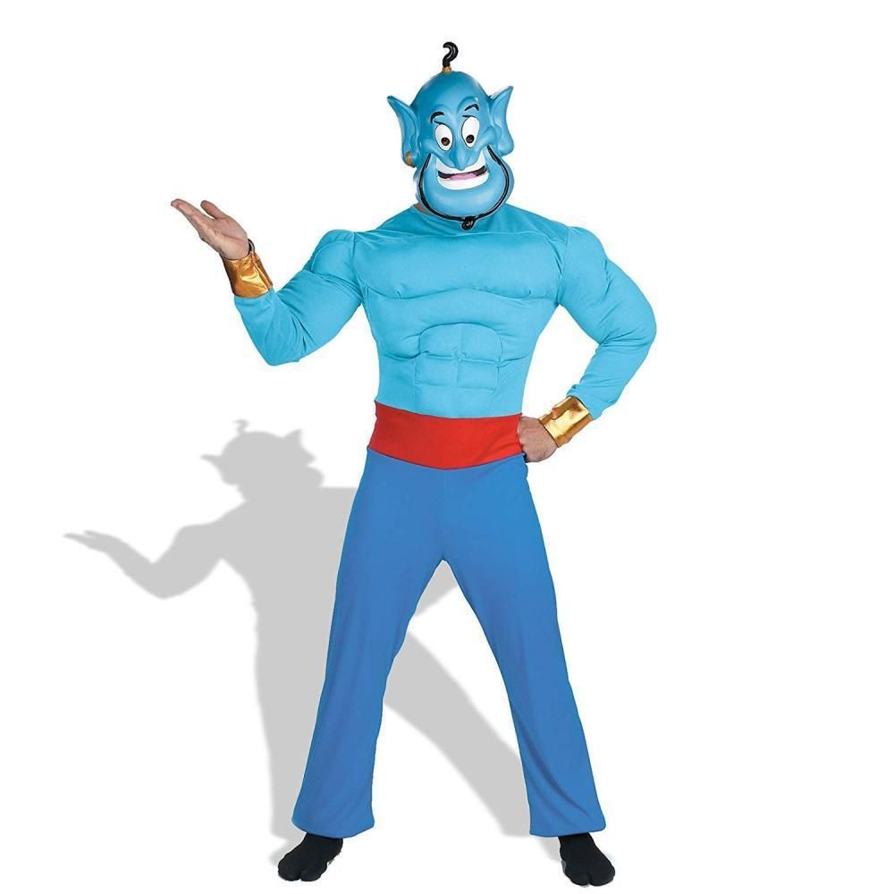 Disney Disguise Mens Aladdin Genie Muscle Costume Fashion Led Lantern Flicker Circuit Hauntforumcom Clothing Shoes Accessories Costumesreenactmenttheater Costumes Ebay Link
