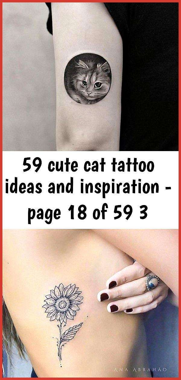59 cute cat tattoo ideas and inspiration - page 18 of 59 3- - Tattoo; Cat