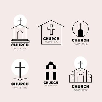 Church Logo Collection Template Church Logo Church Branding Logo Church Logo Inspiration