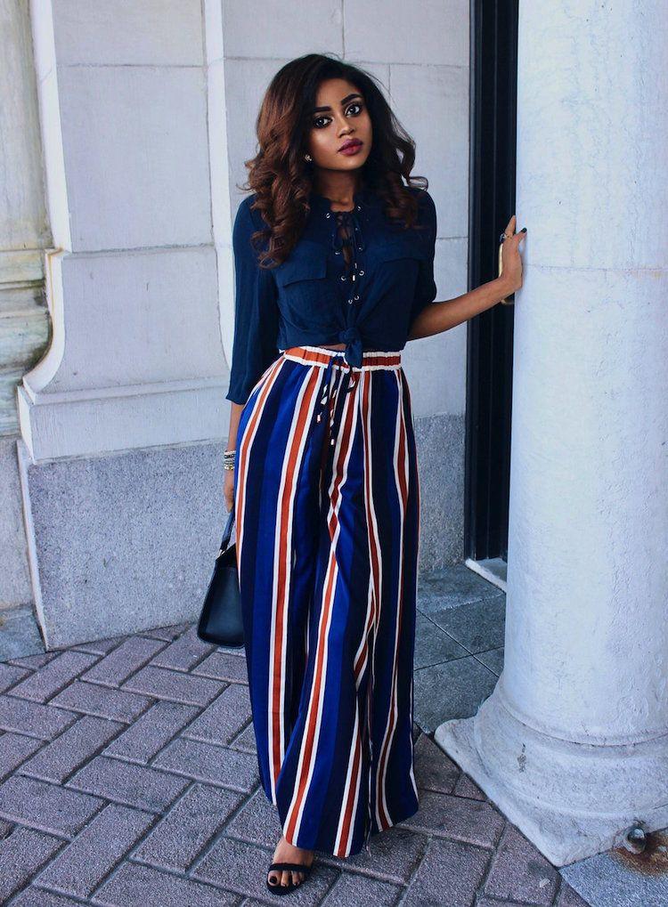 Weite Hosen sind Trend: 22 coole Looks und Stylingtipps für