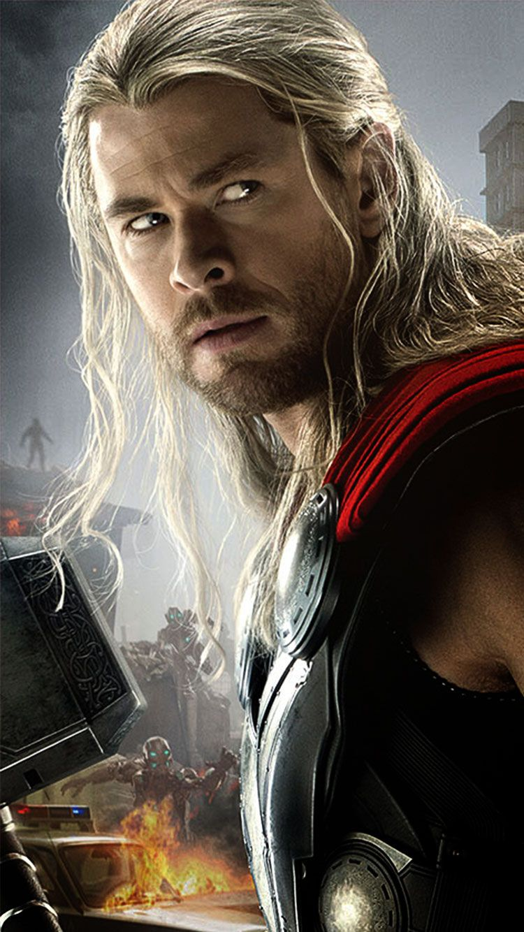 Iphone 6 Wallpaper Thor Avengers Movie Monitor Marvel Film Stock Cinema Ox