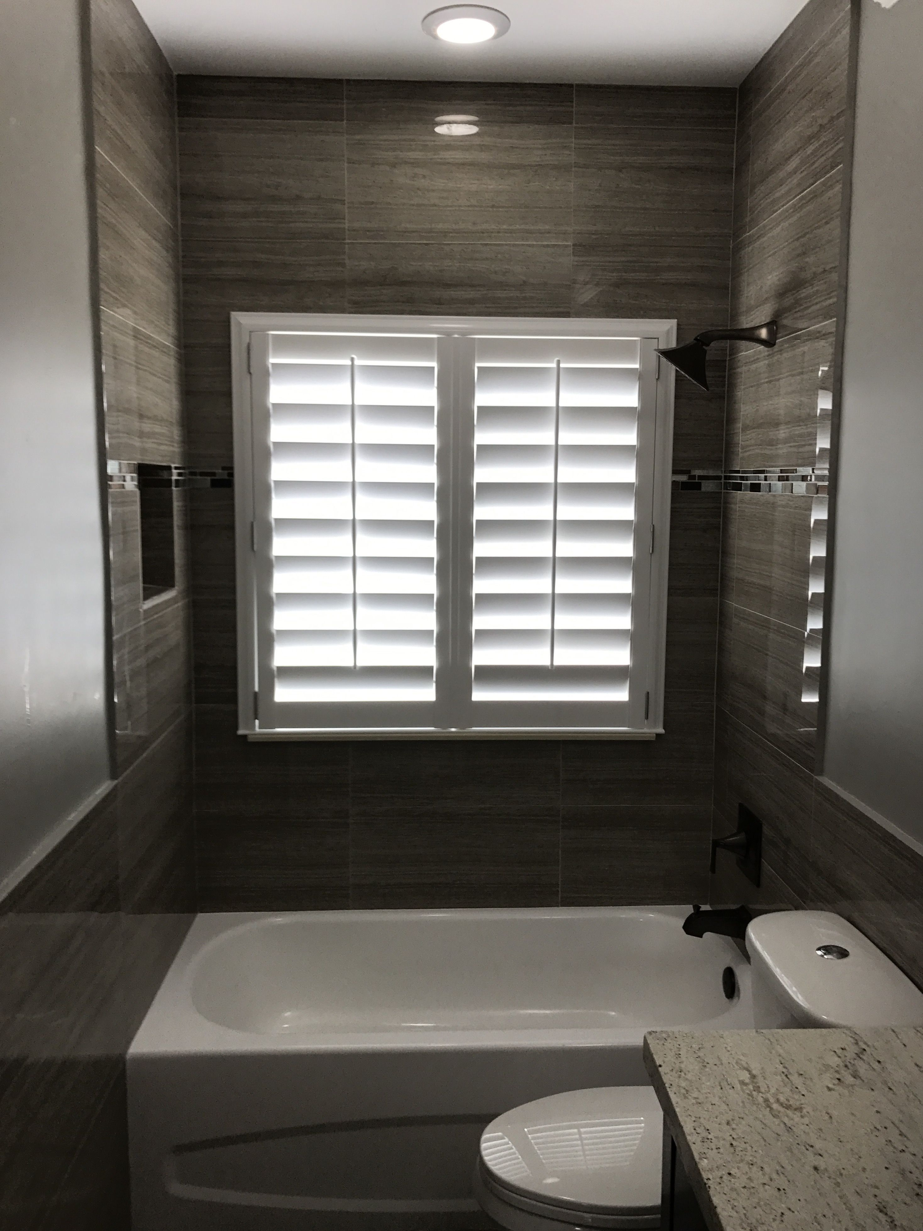 Bathroom Polywood 4 5 Plantation Shutter With Stainless Steel Hardware Blindsandcurtainsfarmhouse