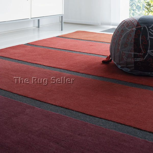 Luna Stairs 91700 Red Wool Rugs By Brink Campman Online From The Rug Er