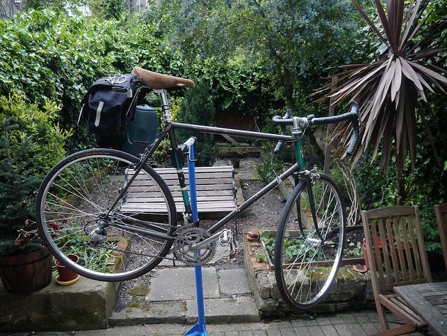 Re-build from old beater fixie by patrickjohnnagle, via Flickr