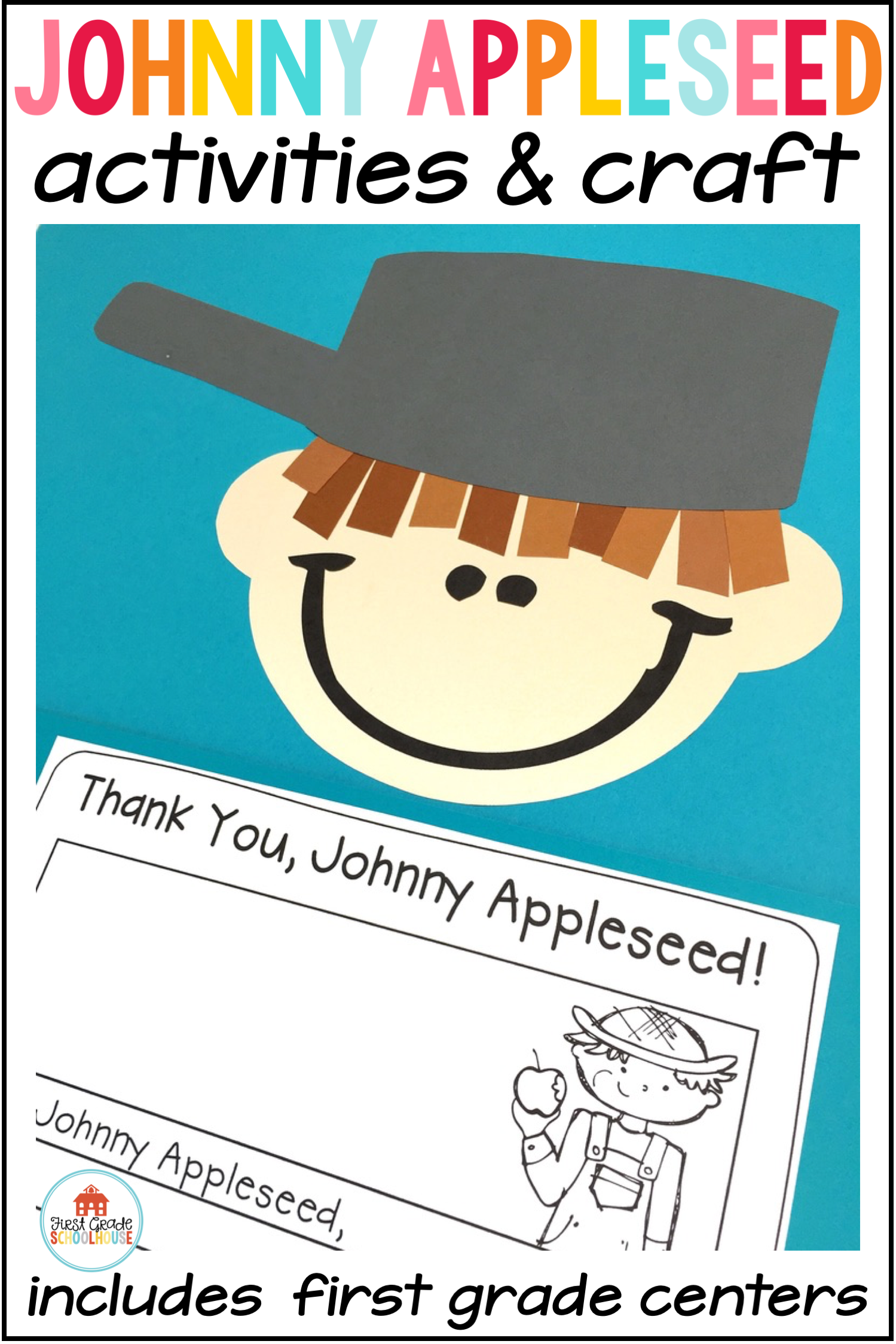 Johnny Appleseed Activities Craft And Centers