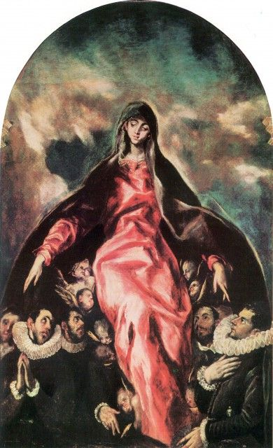 * El Greco - - - The Madonna of Charity