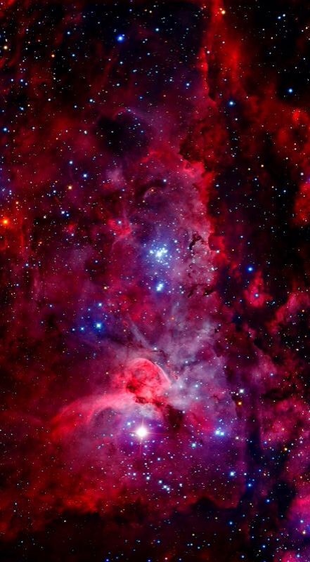 Pink space iphone wallpaper wallpapers galaxy - Pink space wallpaper ...