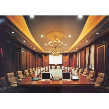 Veneer Mdf Big Office Conference Table Conference Room