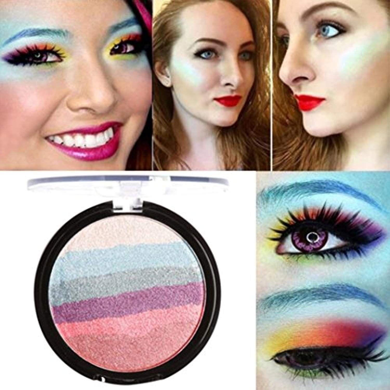 Hot Sale! AMA(TM) Cosmetics Rainbow Highlight Eyeshadow