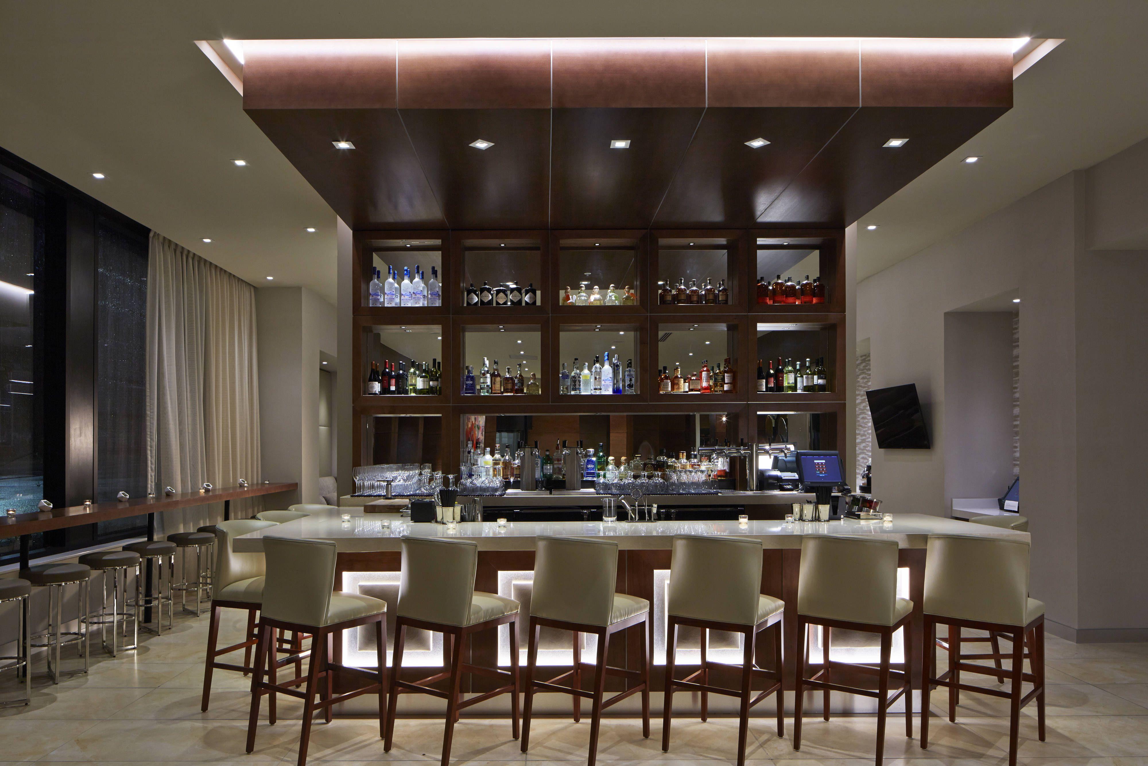 Ac Hotel Des Moines East Village Ac Bar Enjoying Happy