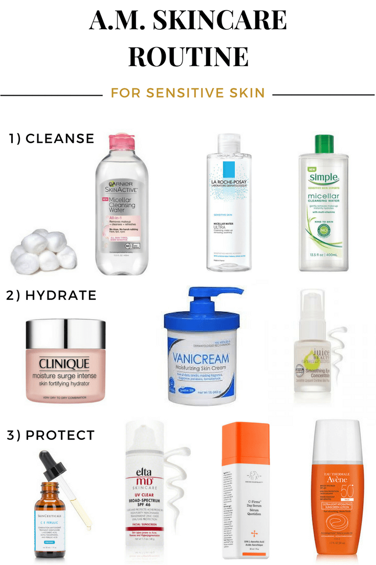 Do You Suffer From Dry Itchy Sensitive Skin Then This Blog Post Is For You I Sha Sensitive Skin Care Routine Morning Skin Care Routine Sensitive Skin Care