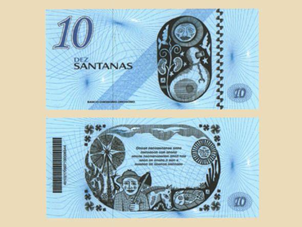 Santana é uma das 70 moedas que circulam no Brasil paralelamente ao real