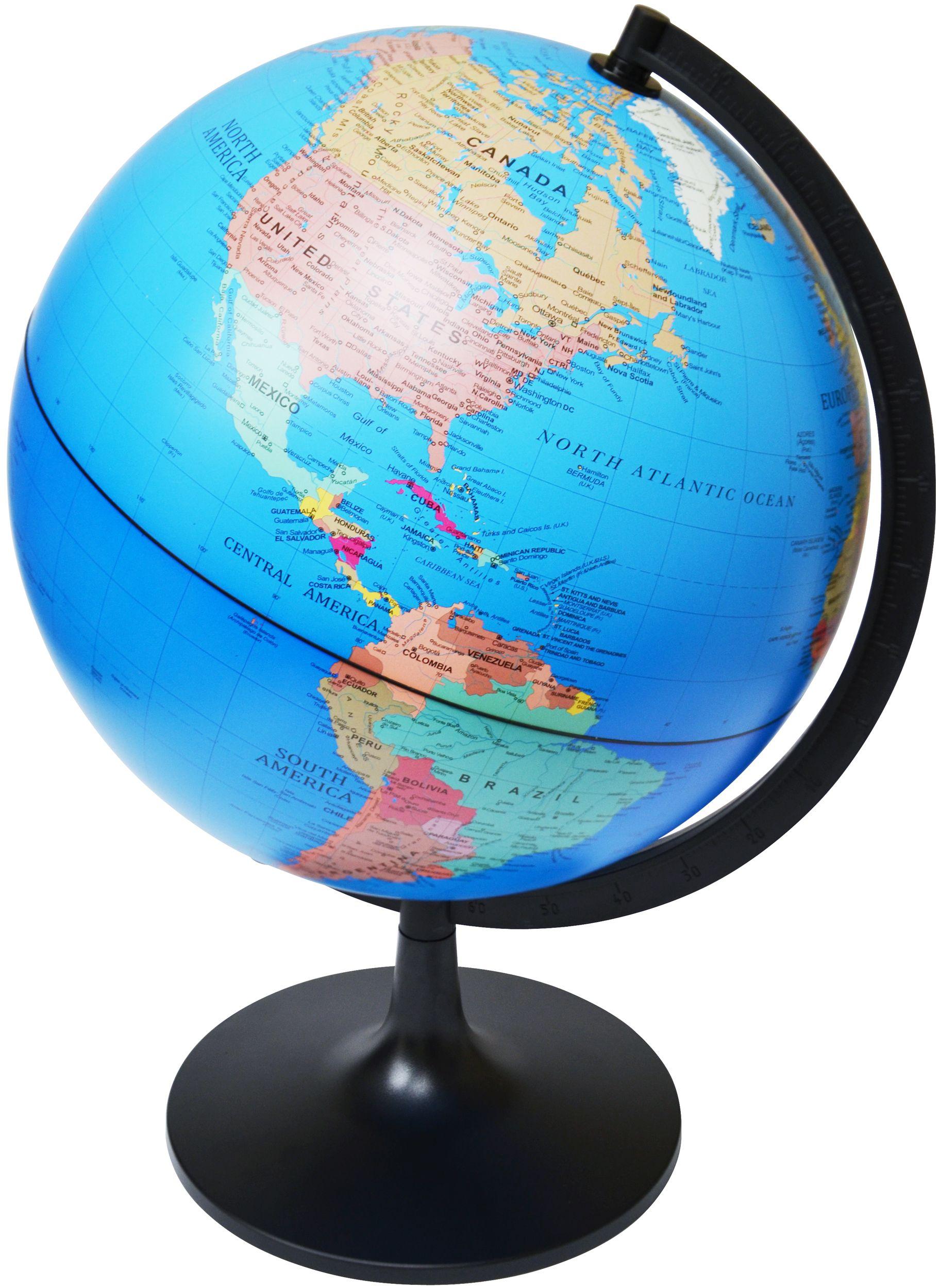 "Model EDU 11"" Desktop Political Globe Globes"
