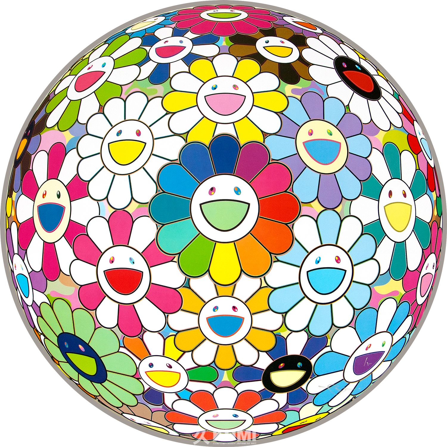 Flower Ball (I Want to Hold You) by Takashi Murakami 村上隆