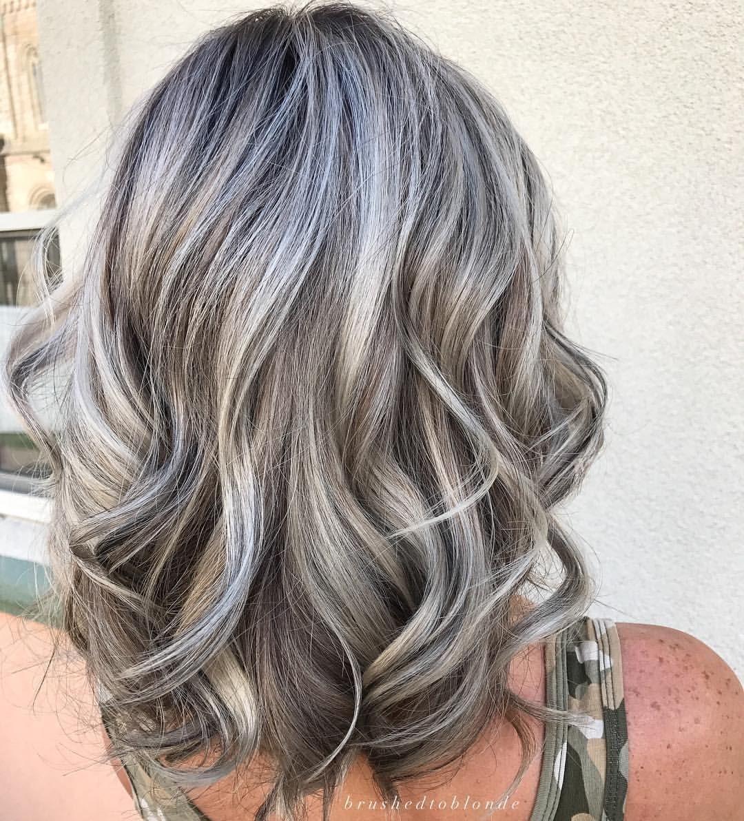 """Danielle Hess on Instagram: """"Lightest ash blonde"""