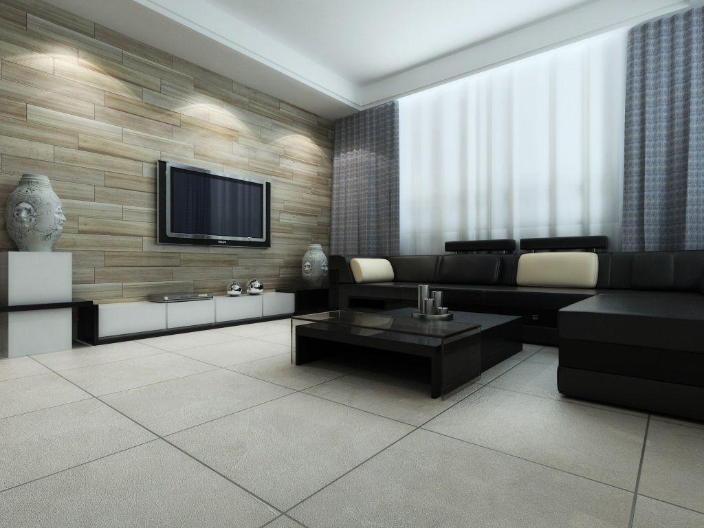 Imagen de pisos y azulejos de Salas de Estar  for my home