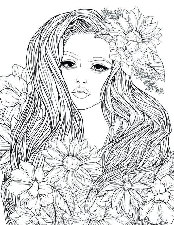 Pin Von Myrna Morrison Auf Lapiz Kostenlose Erwachsenen Malvorlagen Malvorlagen Blumen Malvorlagen Fur Madchen