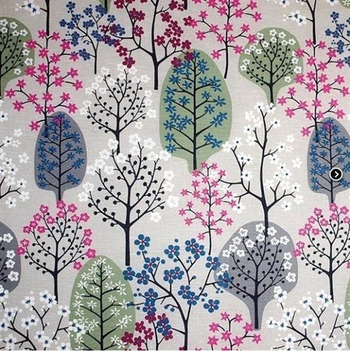 Haga Grey | the swedish fabric company. Another gorgeous tree pattern xx