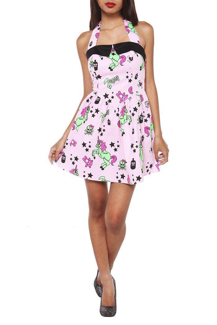 f41b3c6c56570 zombie unicorn dress   Style   Unicorn dress, Dresses, Dressy dresses