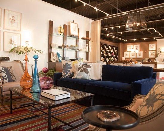 Blue Sofa Living Room Design Amusing Navy Blue Sofa Design Pictures Remodel Decor And Ideas  Page 3 Design Inspiration