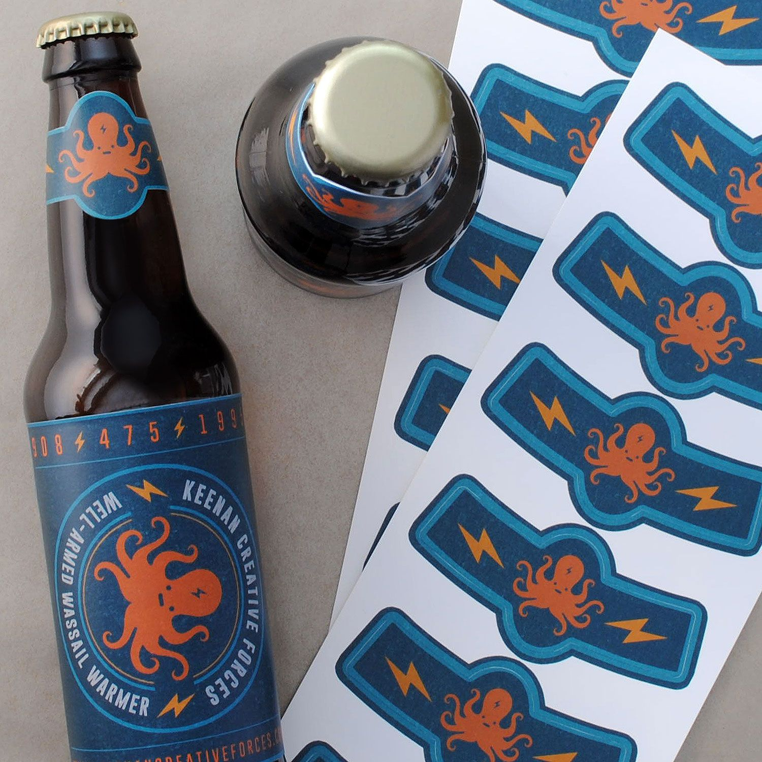 Make your ow beer labels and neck labels to match. Design online ...