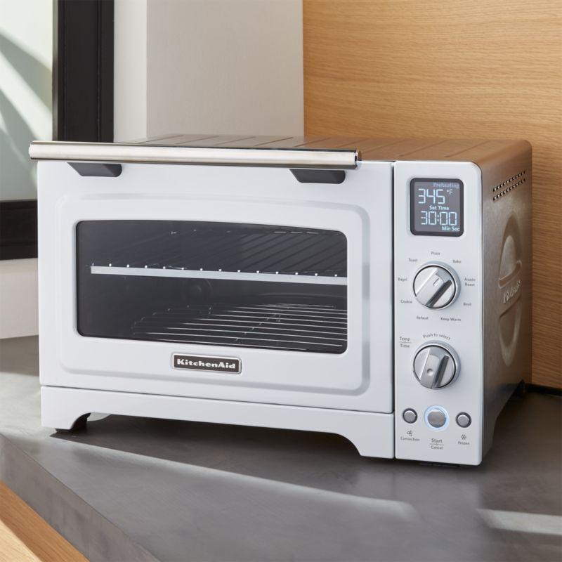 Free Shipping Shop Kitchenaid White Convection Oven Enjoy Full