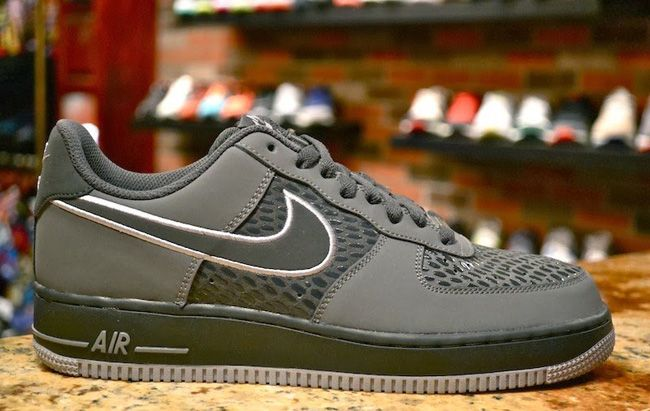 buy popular 079ac dcc34 Nike Air Force One Low  Grey Scales