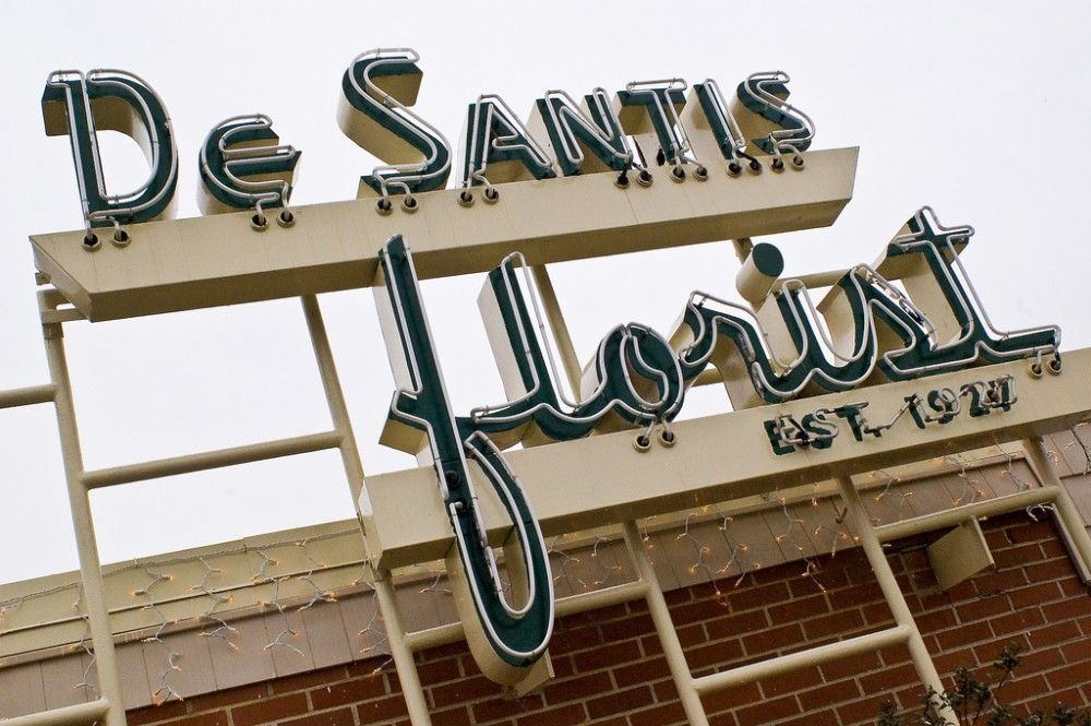 De Santis Florist sign, Columbus, OH. (With images