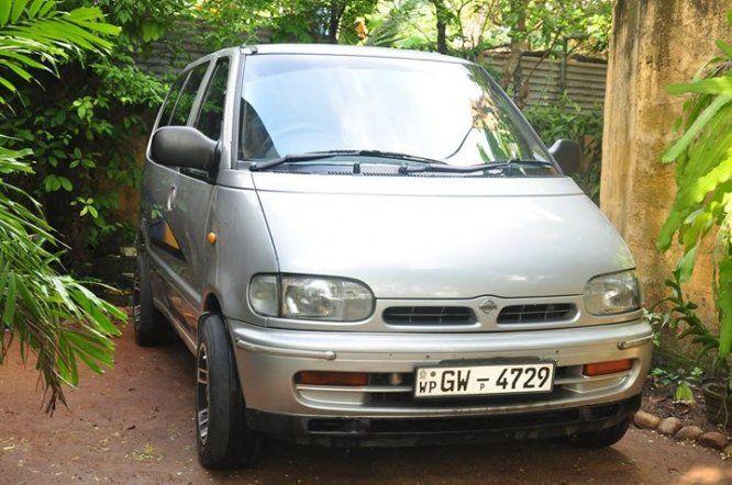 Van Nissan SERENA VX For Sale Sri lanka  Power Steering