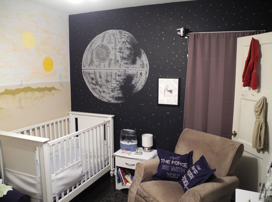 the star wars room Star wars bedroom, Star wars nursery