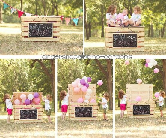I Heart Pears New Gender Reveal Ideas Creative Gender Reveals Baby Gender Reveal Baby Shower Gender Reveal