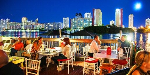 Rouge Waterfront Dining By The Intracoastal Waterway North Miami Beach Florida