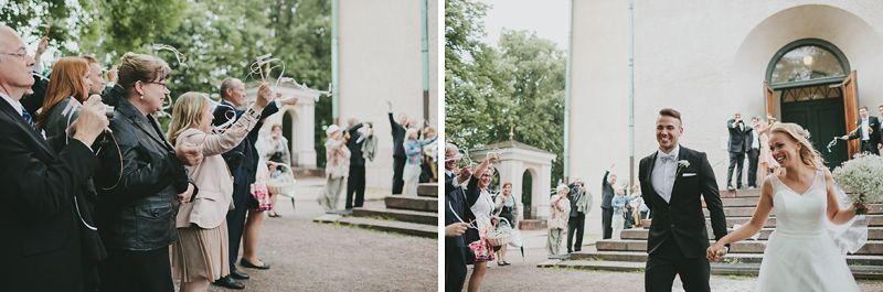 Wedding Day Story Marjaana + Jani. Helsinki, Finland.