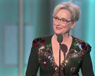 Famous Speech Friday: Meryl Streep's Golden Globes speech #famousspeeches Famous Speech Friday: Meryl Streep's Golden Globes speech #famousspeeches