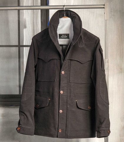 Terrain Heavy Moleskin Jacket.  #KaiD, www.kaidutility.com #jacket #madeinnewyork