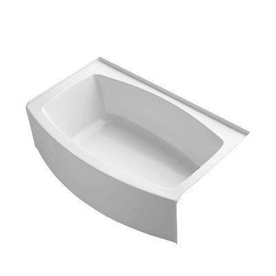 Kohler Expanse 60 Quot X 38 Quot Soaking Bathtub Bathtub